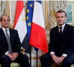 الرئيس الفرنسي يستهل زيارته إلى مصر من معبد أبوسمبل بأسوان