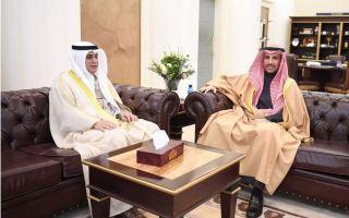 الغانم يستقبل سفير الكويت لدى جمهورية نيجيريا الاتحادية