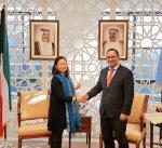 الكويت تتبرع بـ4 مليون دولار لبرنامج الأغذية العالمي لتلبية الإحتياجات الإنسانية للاجئين السوريين