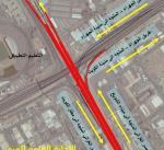 افتتاح طريق جسر الغزالي إلى طريق عبد الناصر بالاتجاهين فجر غدا الجمعة