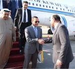 الغانم يصل القاهرة لحضور اجتماع مشترك مع البرلمان العربي