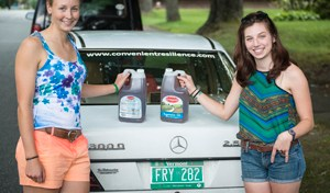 Dana Rubin '12 and Hannah Blackmer '12 Hit the Road, Seeking Sustainable-Living Ideas