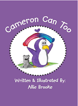 book cover: Cameron Can Too