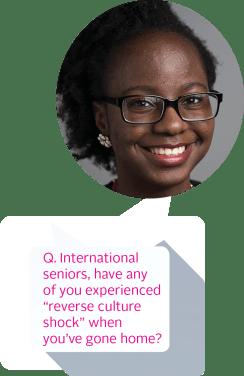 Ifeyinwa Arinze '14 (Nigeria)