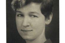 Apgar's senior photo in the Llamarada, 1929.