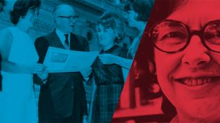 Women Leading in Public Service graphic