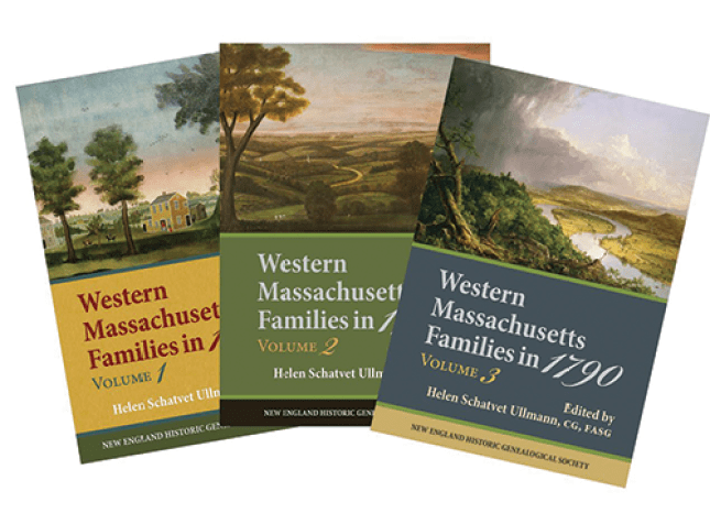 Western Massachusetts Families book covers