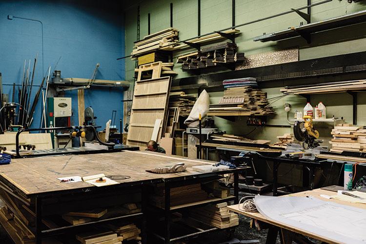 Rooke shop room