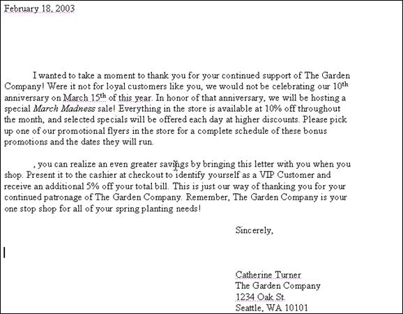 Mail Merge Creating Form Letters And Labels