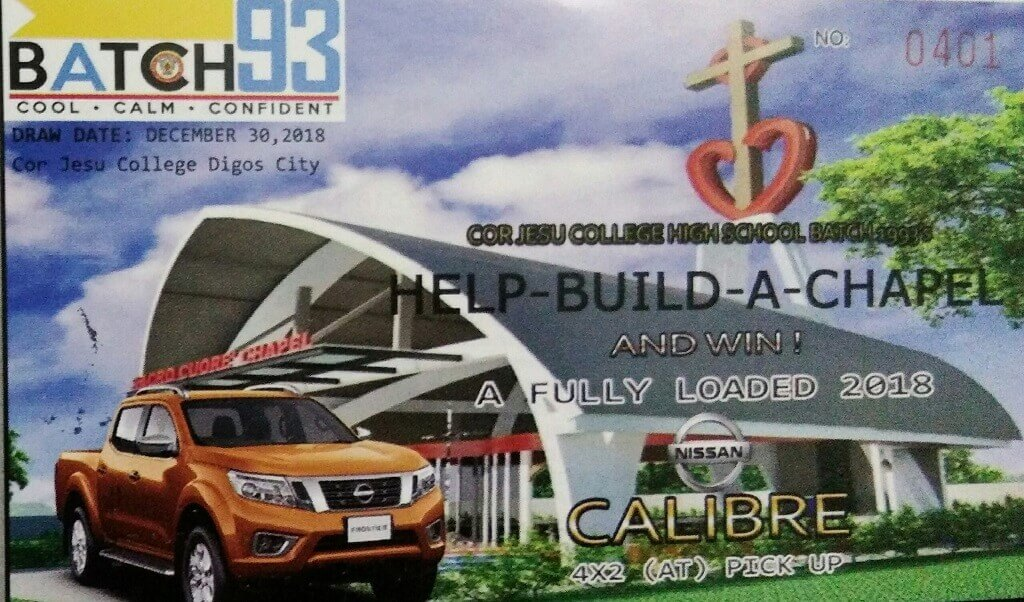 Build a Chapel, Win a Nissan Navara Pickup
