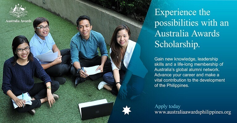 Australia Awards Scholarship Philippines now accepting applicants for 2020