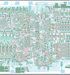 the 4004 cpu [ 2749 x 2014 Pixel ]