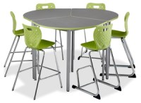 Caf Height Tables and Chairs - Alumni Classroom Furniture Inc