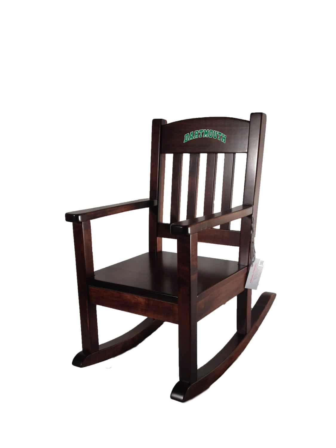 Child Wooden Rocking Chair Dartmouth College Affinity Child Rocking Chair Acrc Green