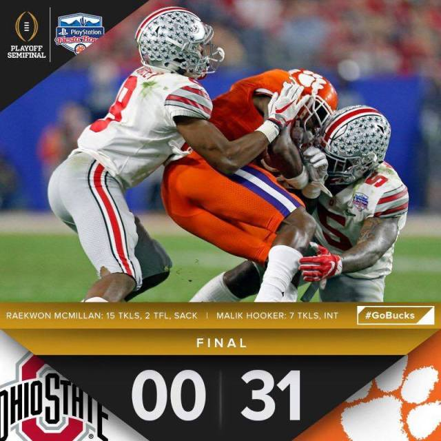 Image result for OSU Clemson