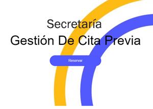 Cita Previa Secretaría