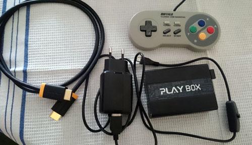 Accesorios consola retro PlayBox Raspberry pi 3