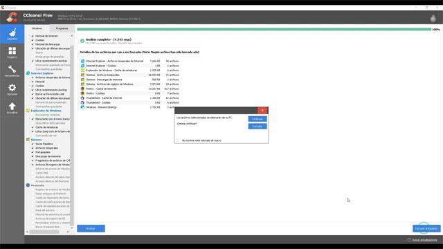 Limpia tu sistema con CCleaner