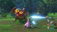 Ataque a enemigo Dragon Quest XI