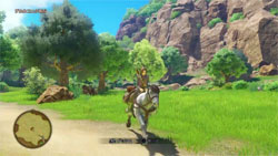 Caballo en Dragon Quest XI