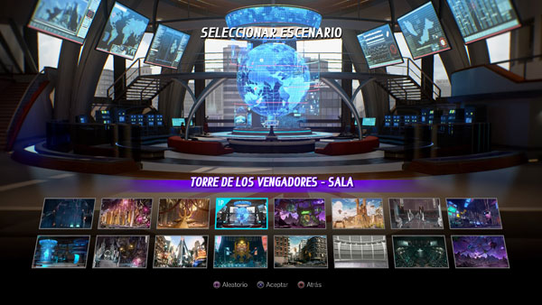 Torre de los Vengadores - Sala