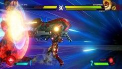 Iron Man realizando un ataque especial a Dormammu