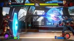Iron Man vs Capitán América en Marvel vs. Capcom: Infinite