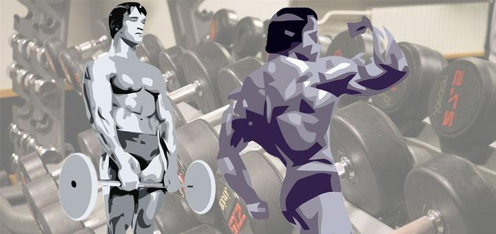 Rutina para ganar masa muscular y definición