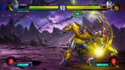 Thanos vs Ultrón
