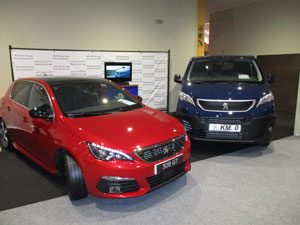 Vehículos de Km 0 en el Salón del Automóvil de Lugo