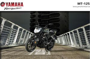 Yamaha MT-125 Modelo de 2017