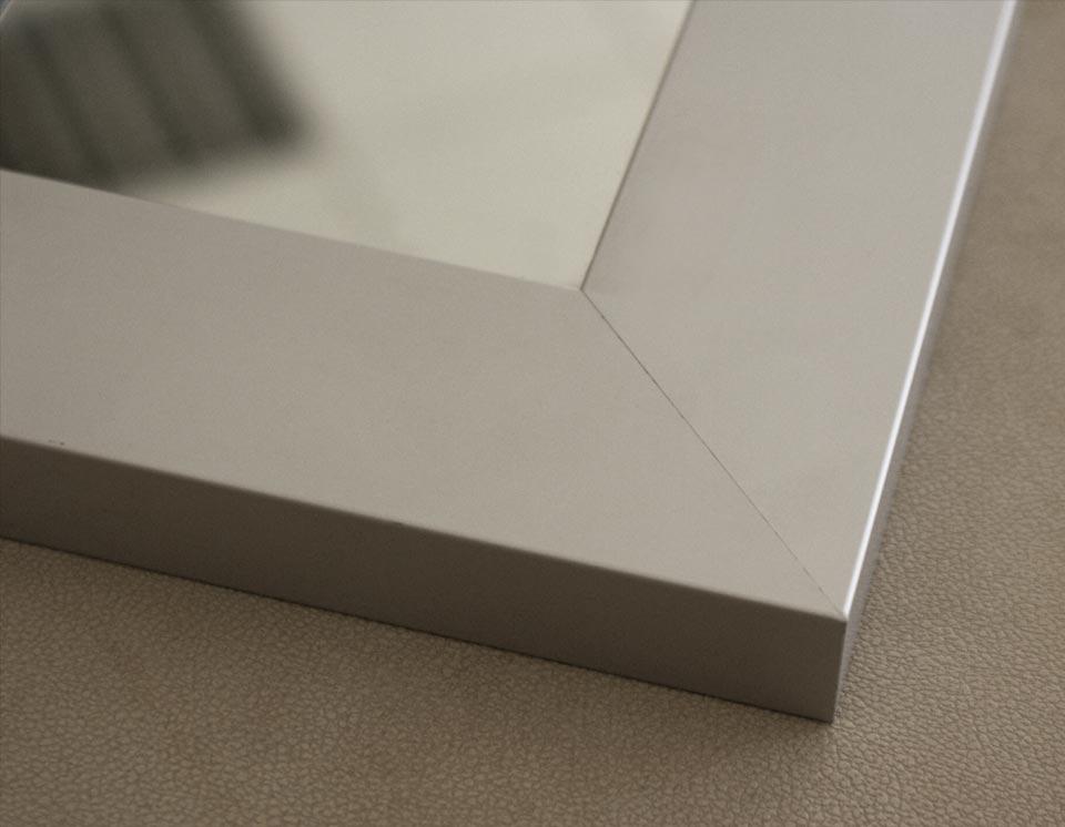 Mirror Glass  Aluminum Glass Cabinet Doors