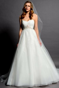 A line empire waist wedding dresses: Pictures ideas, Guide ...