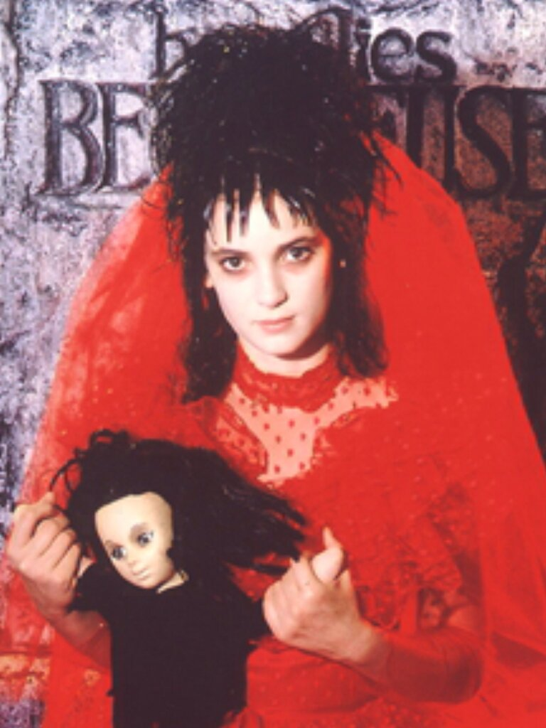 Lydia deetz red wedding dresses Pictures ideas Guide to