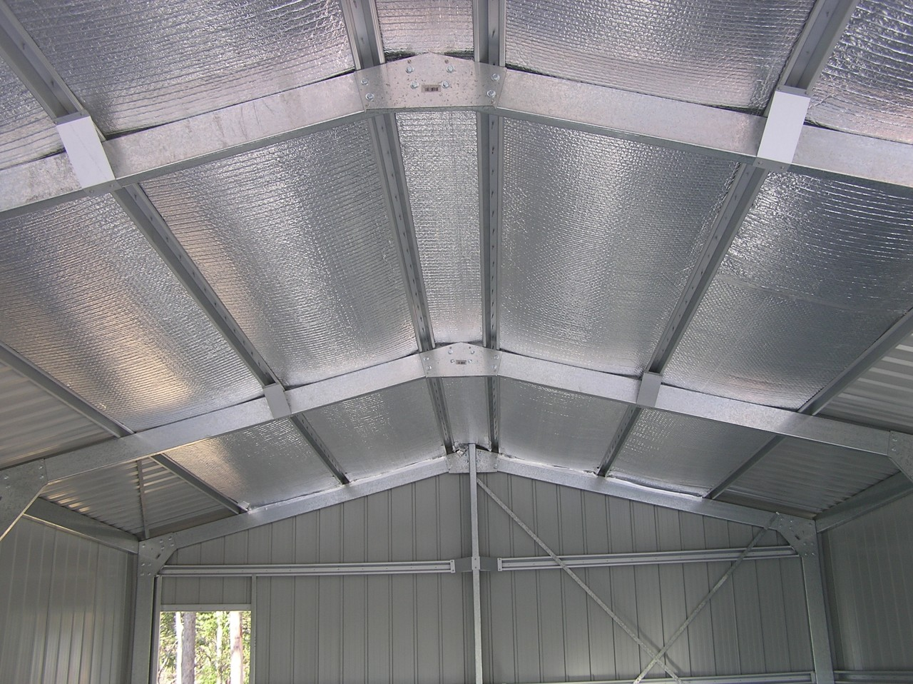 aluminium foil pada baja ringan gudang supplier alumunium harga murah