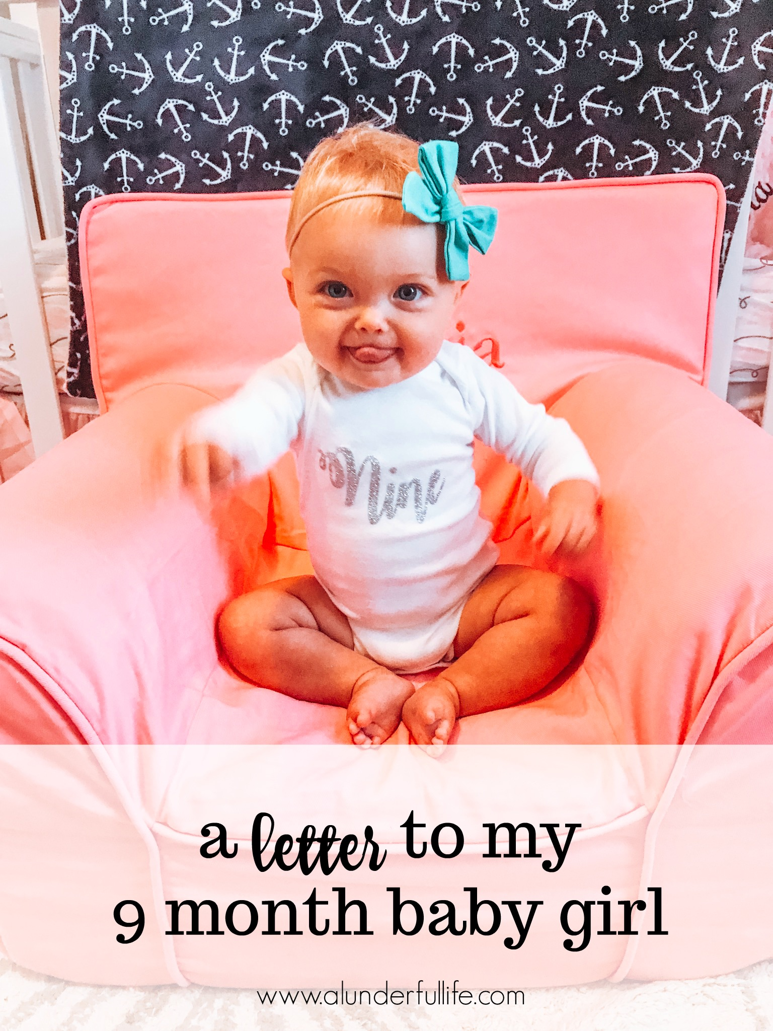 Happy 9 Months Quotes : happy, months, quotes, Letter, Month, Lunderful