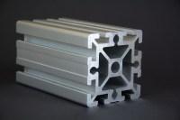 1 m Alu-Profil 90x90 Nut 10 Bosch-kompatibel ...