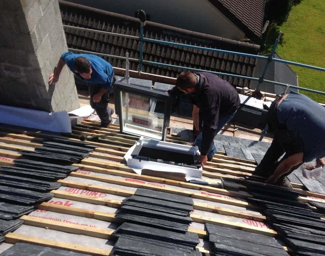 Tiling Underway Limerick
