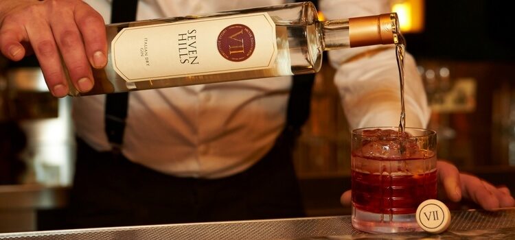 Celebrate aperitivo hour at Ritorno with VII Hills Italian Dry Gin cocktails