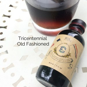 Tricentennial Old Fashioned, El Guapo Bitters - Pinterest