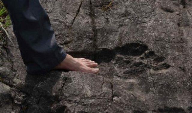 Po celém světě jsou nalézány lidské stopy obřích rozměrů a důkazy, že obří  lidé skutečně existovali | Aluška.org