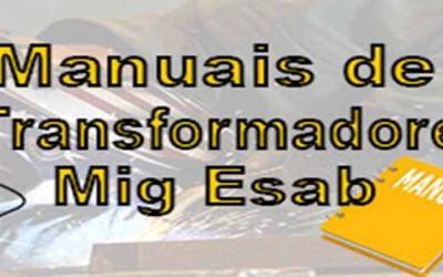 Manuais de transformadores Esab