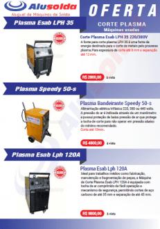 Máquinas de corte plasma usadas