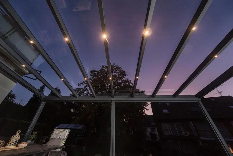 LED Beleuchtung bei Nacht