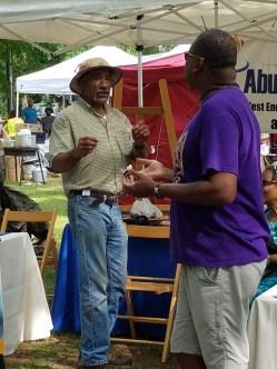 Abundant Love UU at teh Malcolm X Festival with Rev. Duncan Teague