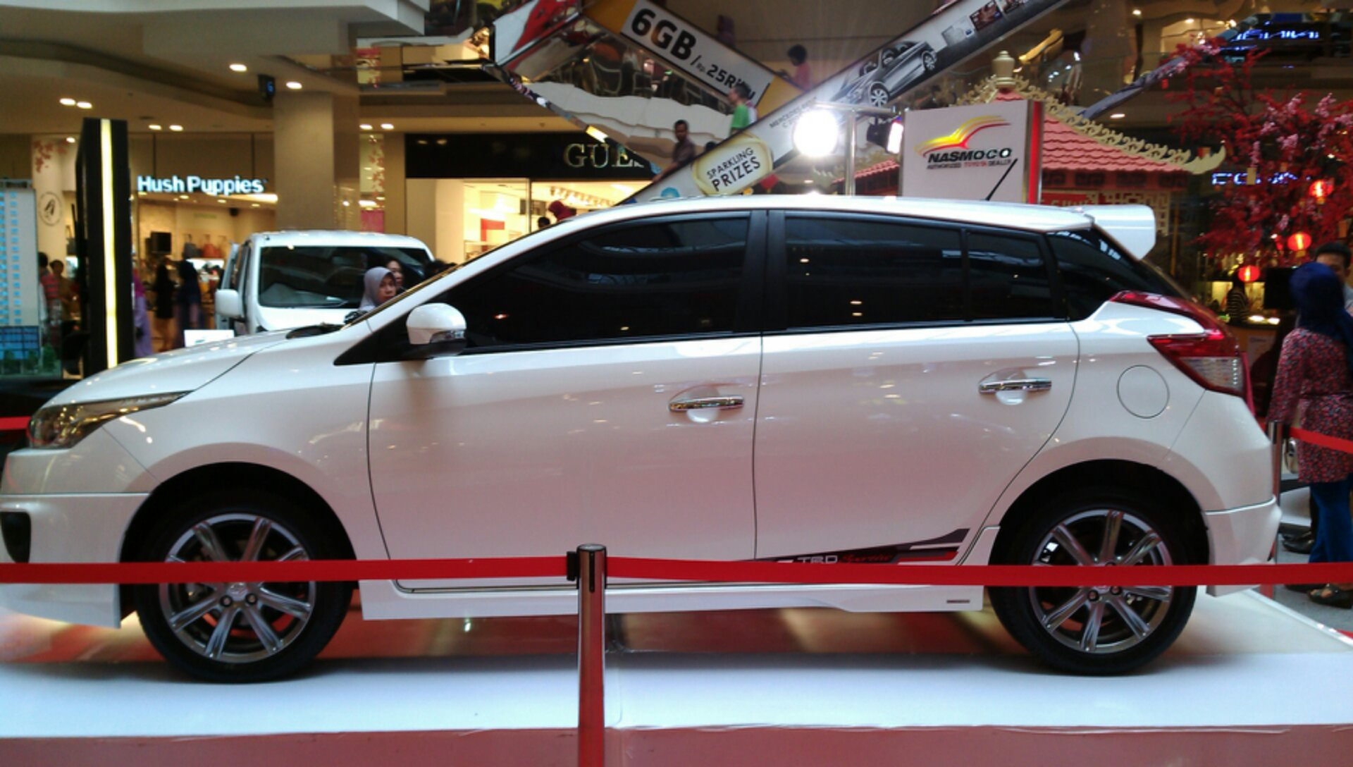 ukuran velg all new yaris trd grand veloz 1.5 silver first sight toyota sportivo  aluvimoto