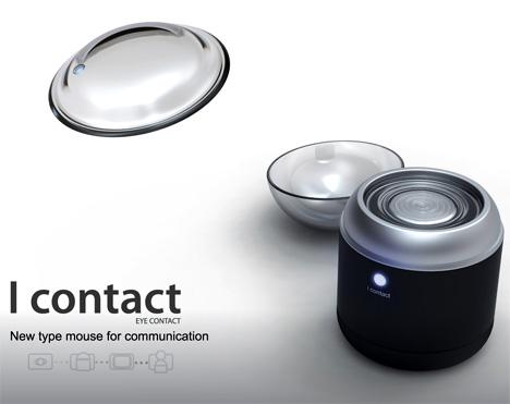 Lentile de contact + mouse = futurism