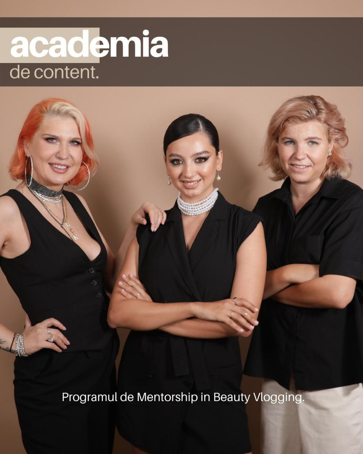 Vrei să faci o carieră în beauty vlogging? Înscrie-te la ACADEMIA DE CONTENT