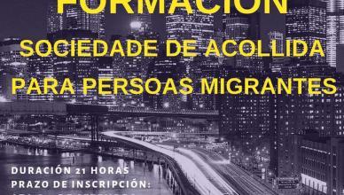 Formación Sociedade de Acollida para persoas migrantes
