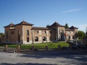 Jardín del Centro Beatriz Galindo de Navalcarnero